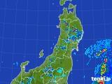 2017年07月18日の東北地方の雨雲レーダー