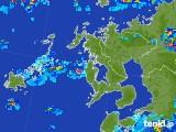2017年07月18日の長崎県の雨雲レーダー