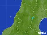 2017年07月19日の山形県の雨雲レーダー