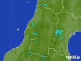 2017年07月20日の山形県の雨雲レーダー