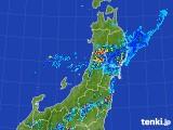 2017年07月22日の東北地方の雨雲レーダー