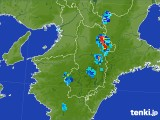 雨雲レーダー(2017年07月22日)