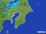 2017年07月25日の千葉県の雨雲レーダー
