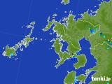 2017年07月28日の長崎県の雨雲レーダー