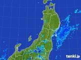 2017年07月29日の東北地方の雨雲レーダー