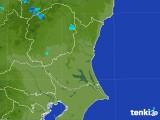 2017年07月30日の茨城県の雨雲の動き