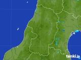 2017年07月30日の山形県の雨雲レーダー