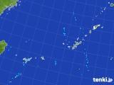 2017年07月31日の沖縄地方の雨雲レーダー