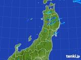 2017年07月31日の東北地方の雨雲レーダー