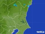 2017年07月31日の茨城県の雨雲の動き