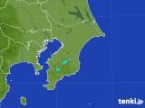 2017年07月31日の千葉県の雨雲レーダー