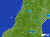 2017年07月31日の山形県の雨雲レーダー
