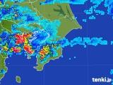 2017年08月01日の千葉県の雨雲レーダー
