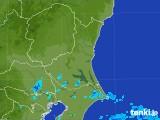 2017年08月02日の茨城県の雨雲の動き