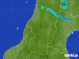 2017年08月02日の山形県の雨雲レーダー