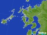 2017年08月03日の長崎県の雨雲レーダー