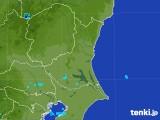 2017年08月04日の茨城県の雨雲の動き