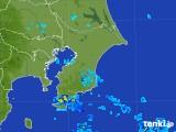 2017年08月04日の千葉県の雨雲レーダー