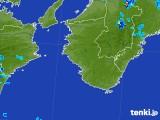 2017年08月05日の和歌山県の雨雲の動き