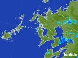 2017年08月05日の長崎県の雨雲レーダー