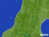 2017年08月05日の山形県の雨雲レーダー