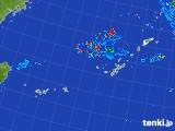 2017年08月06日の沖縄地方の雨雲レーダー