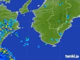 2017年08月06日の和歌山県の雨雲の動き