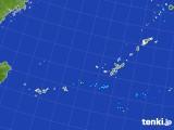 2017年08月08日の沖縄地方の雨雲レーダー