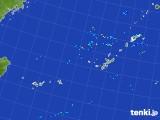 2017年08月11日の沖縄地方の雨雲レーダー