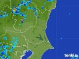 2017年08月13日の茨城県の雨雲の動き