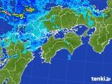 雨雲の動き(2017年08月14日)