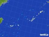 2017年08月18日の沖縄地方の雨雲レーダー