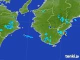 2017年08月18日の和歌山県の雨雲の動き