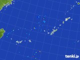 2017年08月19日の沖縄地方の雨雲レーダー