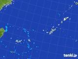 2017年08月23日の沖縄地方の雨雲レーダー