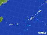 2017年08月24日の沖縄地方の雨雲レーダー