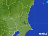 2017年08月24日の茨城県の雨雲の動き