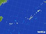 2017年08月25日の沖縄地方の雨雲レーダー