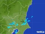 2017年08月26日の茨城県の雨雲の動き