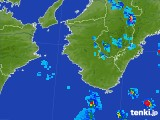 2017年08月28日の和歌山県の雨雲の動き