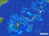 2017年09月13日の沖縄地方の雨雲レーダー