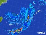 2017年09月14日の沖縄地方の雨雲レーダー