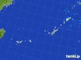2017年09月17日の沖縄地方の雨雲レーダー