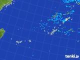 2017年09月24日の沖縄地方の雨雲レーダー