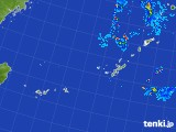 2017年09月26日の沖縄地方の雨雲レーダー