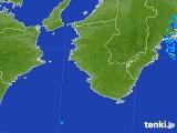 2017年10月01日の和歌山県の雨雲レーダー