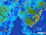 2017年10月02日の和歌山県の雨雲レーダー