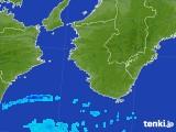 2017年10月05日の和歌山県の雨雲レーダー