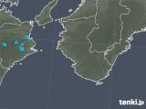 2017年10月07日の和歌山県の雨雲レーダー