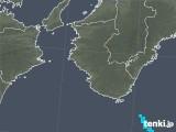 2017年10月11日の和歌山県の雨雲レーダー